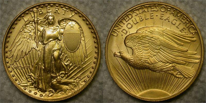 Quot Mcmvi Quot 1906 Saint Gaudens Winged Liberty Gold Quot Double