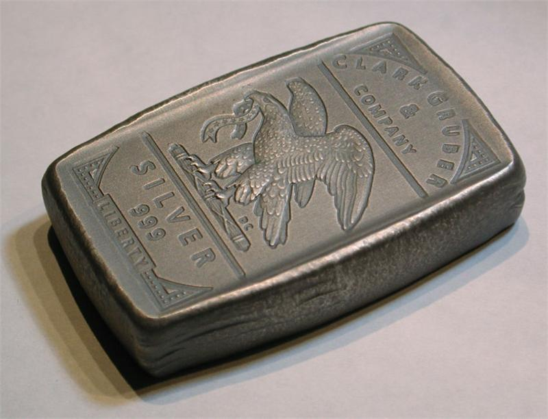 Clark Gruber 5 Troy Oz 999 Silver Bar Quot May 2014 Quot Date