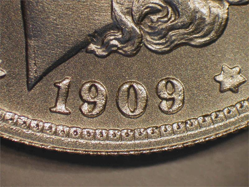 Quot 1909 O Quot Micro O Morgan Silver Fantasy Issue Die Pair 2